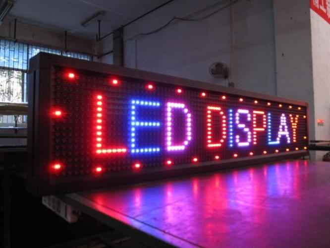 Led signs nigeria digital signage moving sign display for Exterior led screen