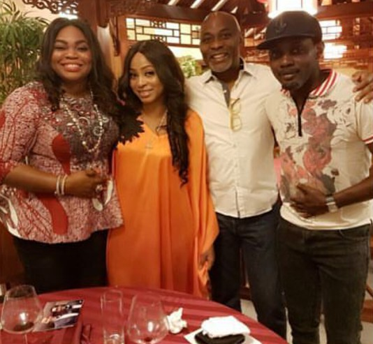 Photos: RMD and wife host AYs wife to a birthday dinner