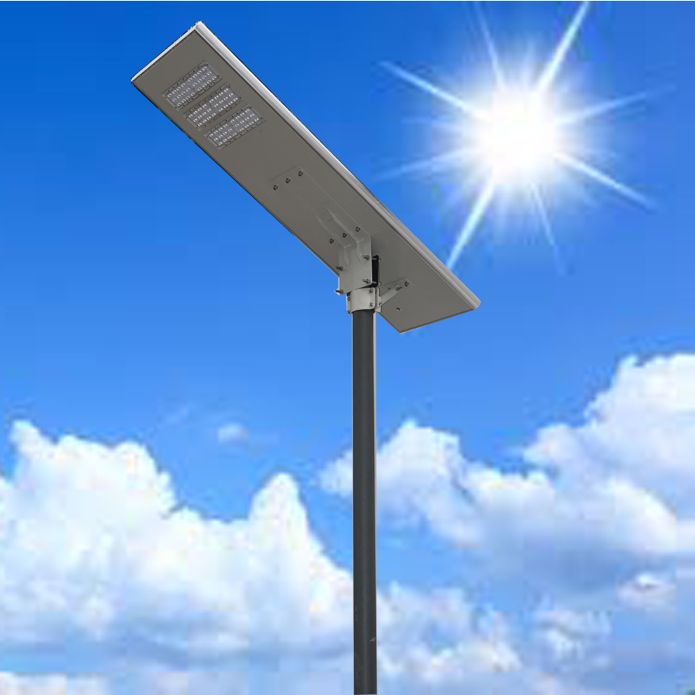 60w All In One Solar Street Light Led Integrated Solar