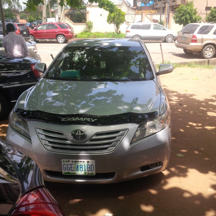 toyota camry used 2008model for sale price call 08131267376 autos nigeria. Black Bedroom Furniture Sets. Home Design Ideas