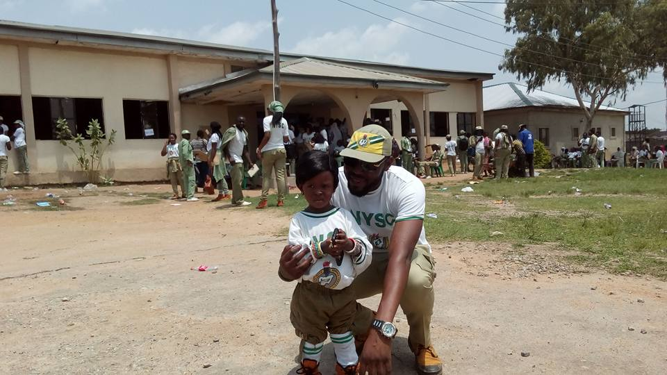Amazing Picture Of 3-year-old Corp Member - NYSC