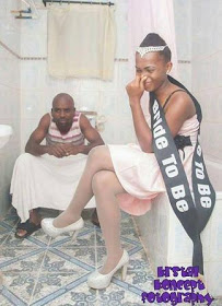 Couple Shoot Pre-wedding Photo In Toilet (photo) - Romance