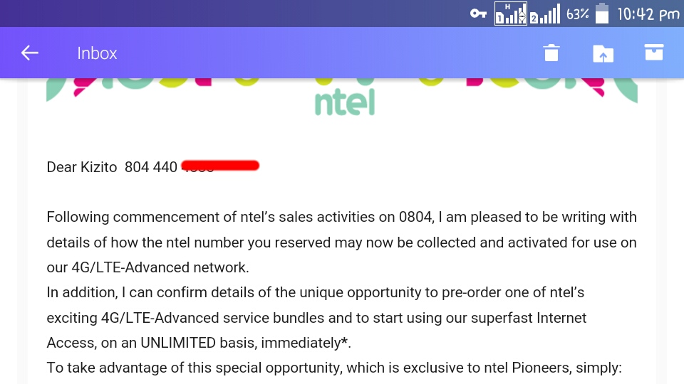 Where to get your NTEL SIM card and enjoy unlimited Internet access