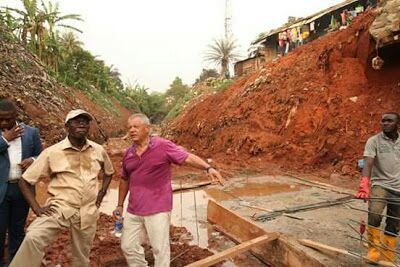 Oshiomhole Builds 30-feet Underground Drainage System In Benin (photos)