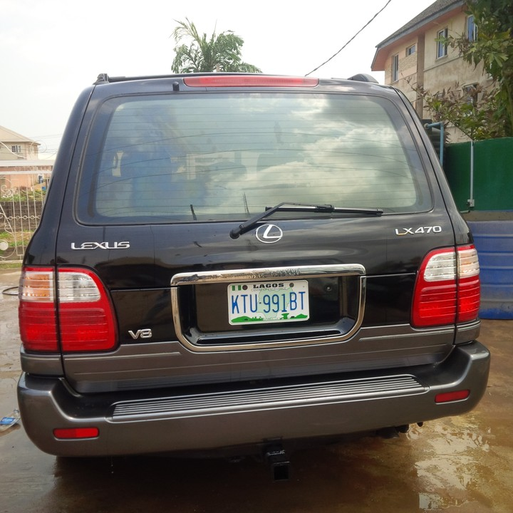 Foreign Used Honda Crosstour 2016 >> Registered 1999 Lexus Lx470 Jeep - Autos - Nigeria
