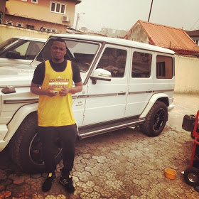 Wizkid, Davido And Olamide Shows Off G Wagon Cars