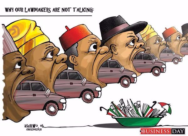 Checkout Hilarious Cartoon Of Our Senators (photos ) - Jokes Etc