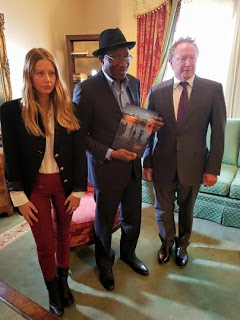 Goodluck Jonathan Meets With Andrew Forrest