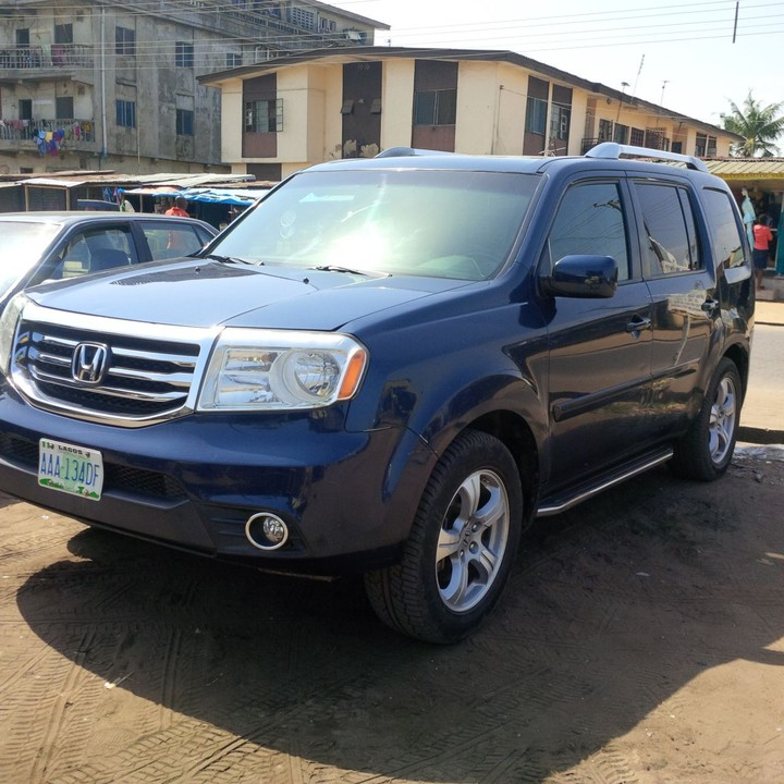 extremely clean 2012 honda pilot touring for sale autos nigeria. Black Bedroom Furniture Sets. Home Design Ideas