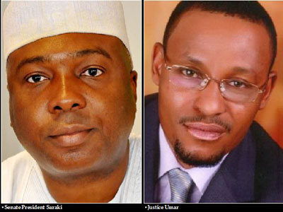 Withdraw From Saraki's Trial, Eminent Lawyers Advise CCT Chairman, Umar