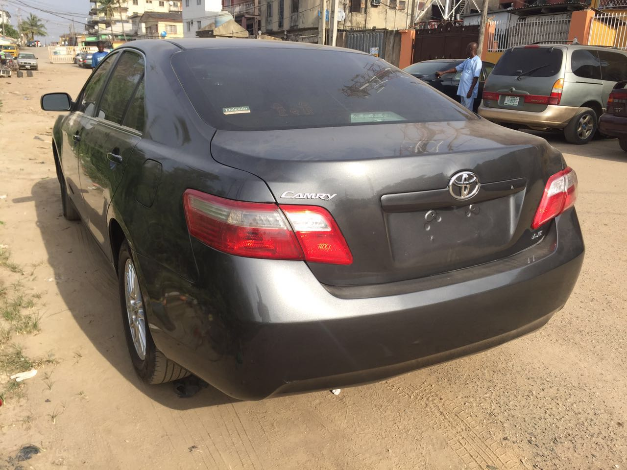 sold extremely clean 2008 toyota camry leather seats alloy bubble headlights autos nigeria. Black Bedroom Furniture Sets. Home Design Ideas