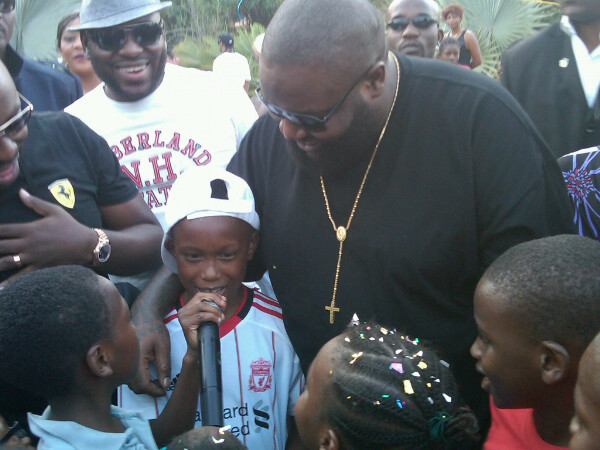 Nigerian Parents Paid Rick Ross 100 000 To Attend Son S