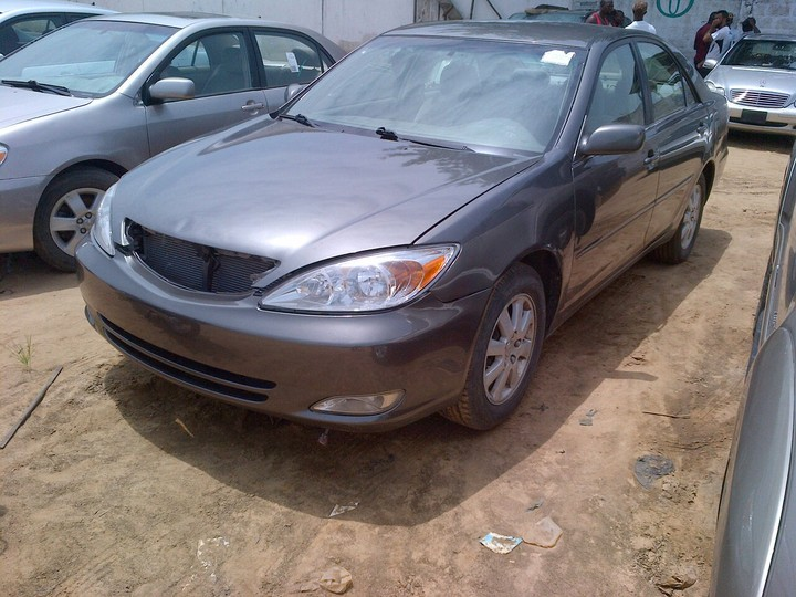 Toks 2004 Toyota Camry Xle With Fabric Interior And V4 Engine N1