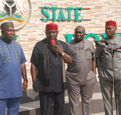 Enugu Killings: South Eastern Governors arrive Abuja (photos)