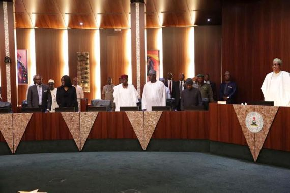 Just In: President Buhari meets with 36 state Governors (See Photos)