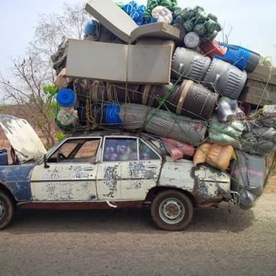 Overloaded Vehicle Intercepted By Frsc In Oyo Photos