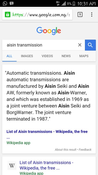 aisin-warner aw-4 reliability