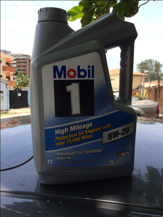 Mobil-1 High Mileage Full Synthetic Oil 5w20 And 5w30 For Sale - Autos - Nairaland
