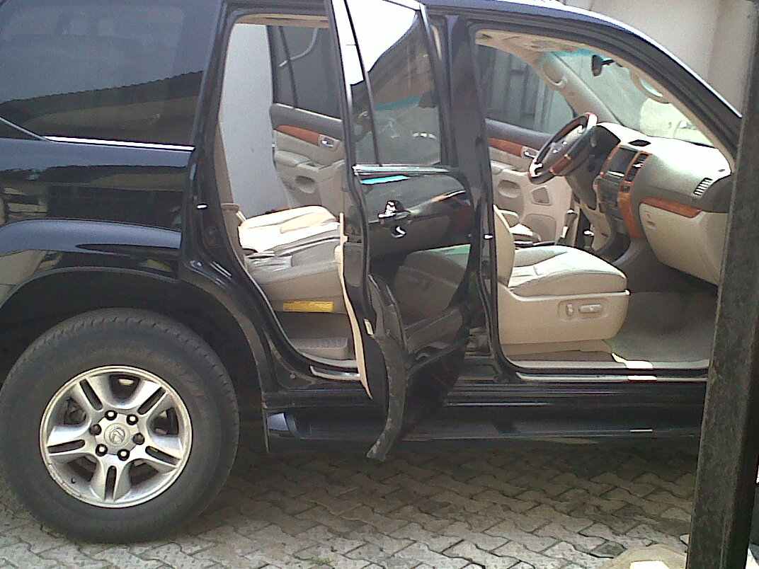 I Have Clean Lexus GX470 2003 2004 Model.My Selling Price Is 2.7 Million.If  Interested Kindly Call Paul 014546509 Or 08091631044