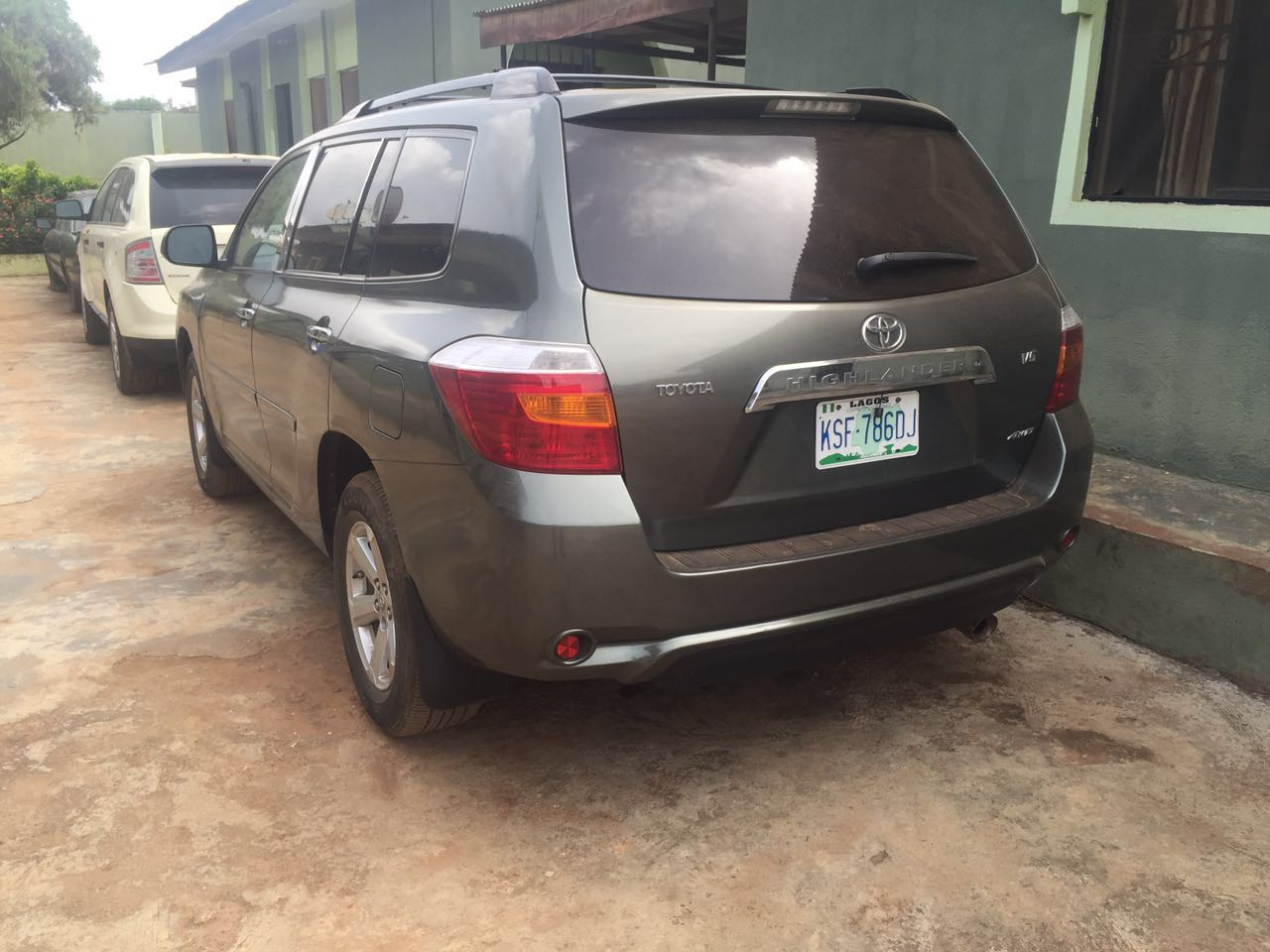 reg 2008 toyota highlander for sale autos nigeria. Black Bedroom Furniture Sets. Home Design Ideas