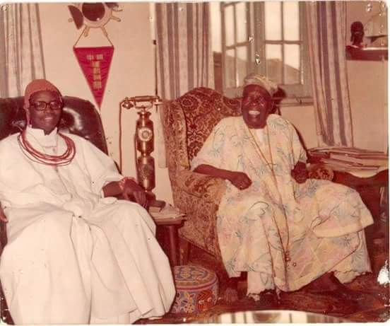 When Oba Erediauwa Visited The Ooni Of Ife In 1979
