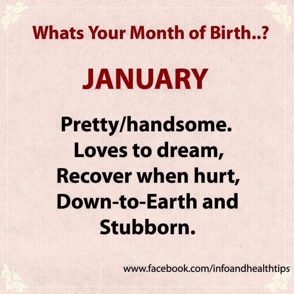 What Your Birth Month Says About You Photos Romance Nigeria