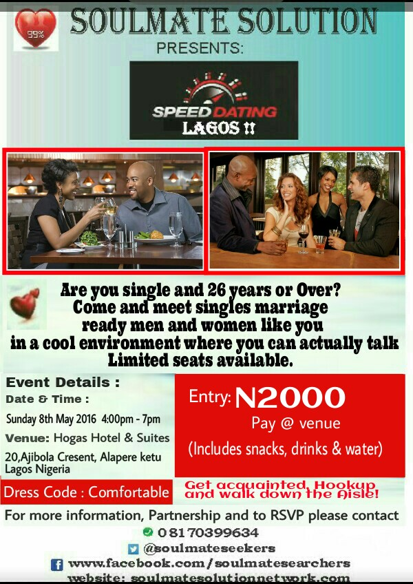 Speed dating in lagos