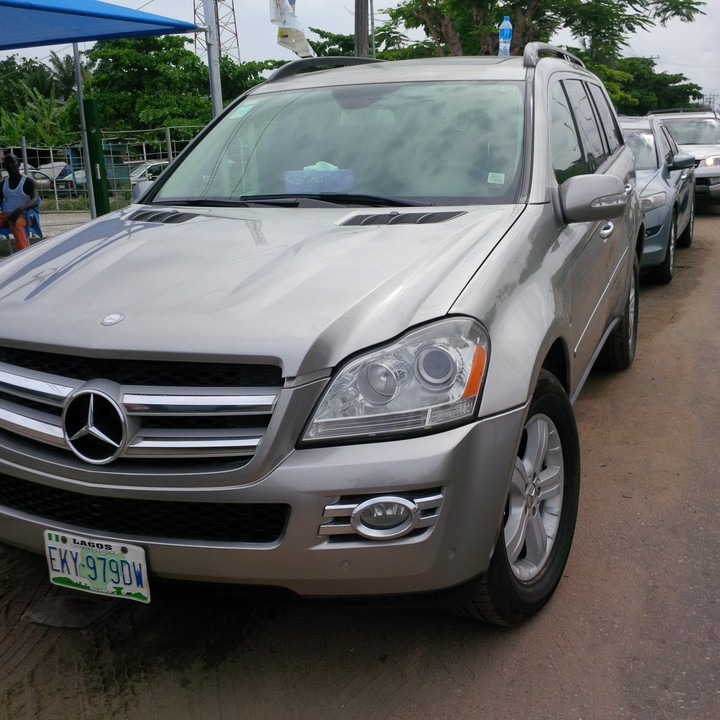 2008 mercedes benz gl450 registered for sale autos nigeria for Mercedes benz 2008 gl450 for sale