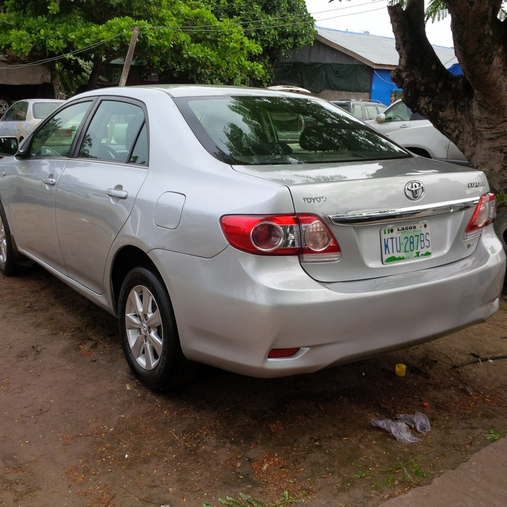 2019 Toyota Corolla Transmission: 2012 Toyota Corolla Registered For Sale