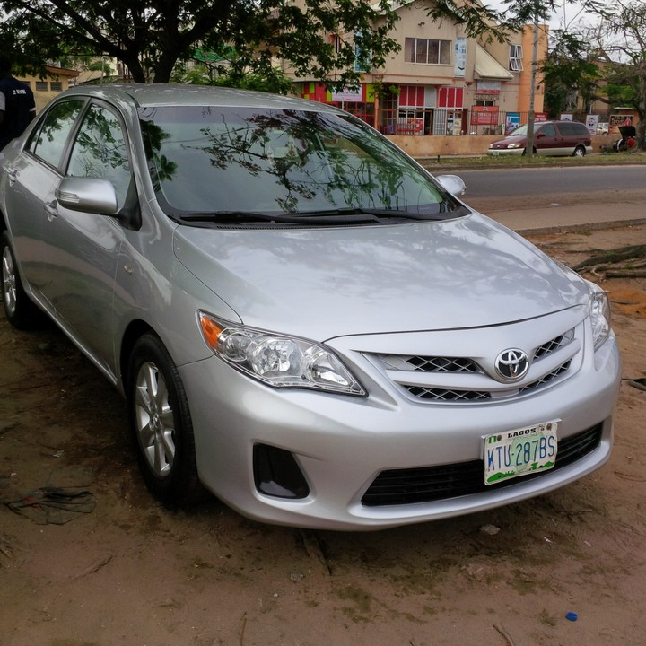 2012 toyota corolla registered for sale autos nigeria. Black Bedroom Furniture Sets. Home Design Ideas