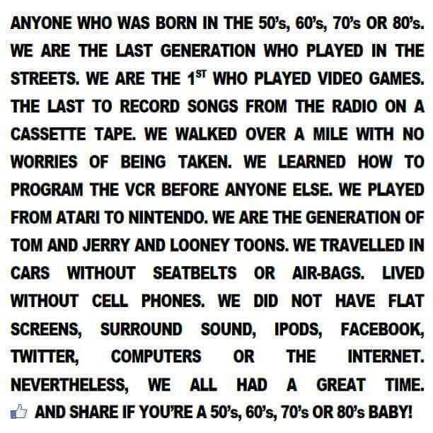 You Need To Check This Out If Were Born In The 80s Or 70s