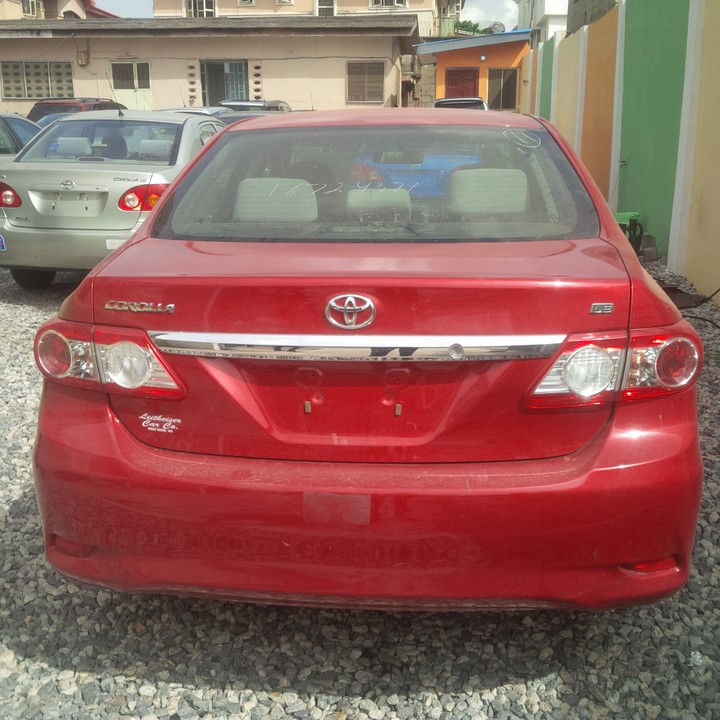 Newly Arrived Toks Toyota Corolla 2011 LE American Specs  Autos