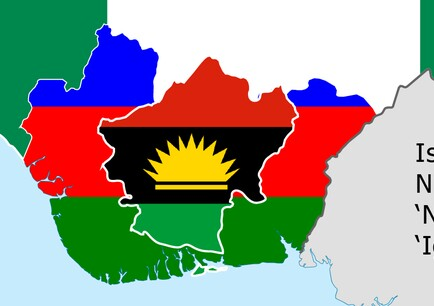 My reasoning is that had there been anything recognized as Biafra in existence or ever in existence in this area, it would have been mentioned in passing.