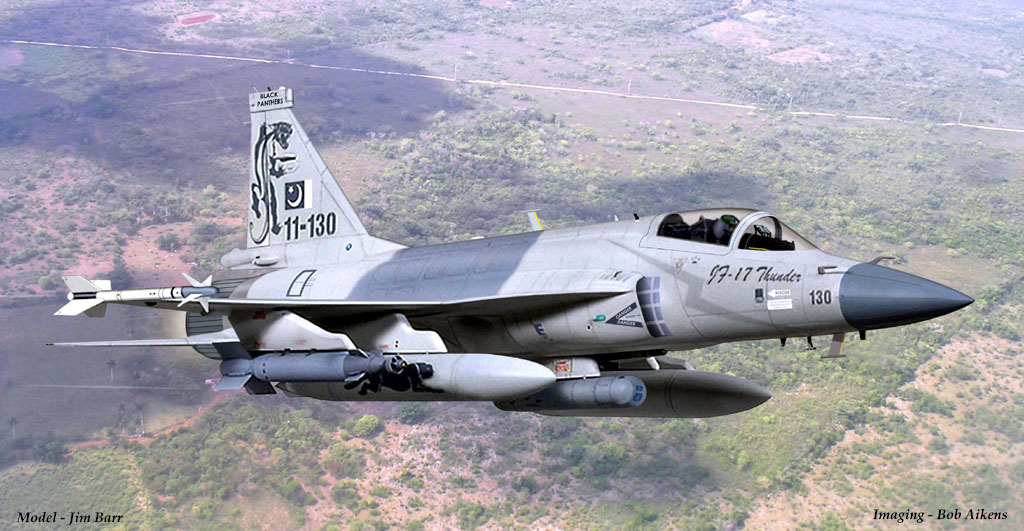 The JF17 Thunder multirole fighter was jointly developed by China and Pakistan This aircraft is intended for air defense and ground attack missions