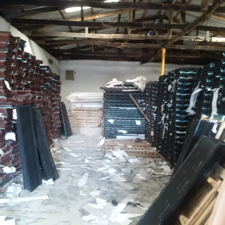 Stone Coated Step Tiles Roofing Sheet / Roof Tiles ...