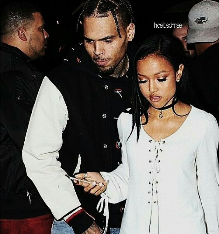 chris brown and karrueche tran are back together