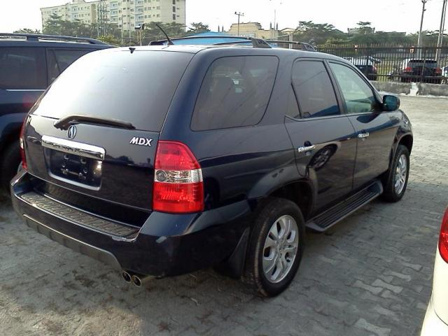 tokunbo 2003 acura mdx for sale autos nigeria. Black Bedroom Furniture Sets. Home Design Ideas