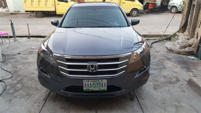 sold clean registered honda crosstour 2010 for sale autos nigeria. Black Bedroom Furniture Sets. Home Design Ideas