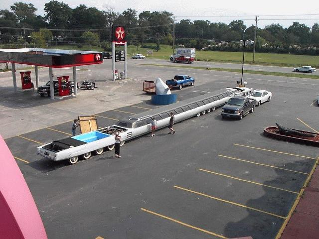 Photos Of The Longest Car In The World... Having A ...