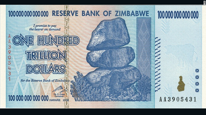 See More At Http Www Vipgist 2016 05 Zimbabwe Trillion Dollar Noteworth Only Html