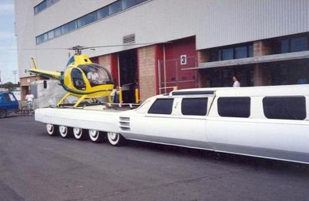 Have You Seen The World's Longest Car With A Swimming Pool ...