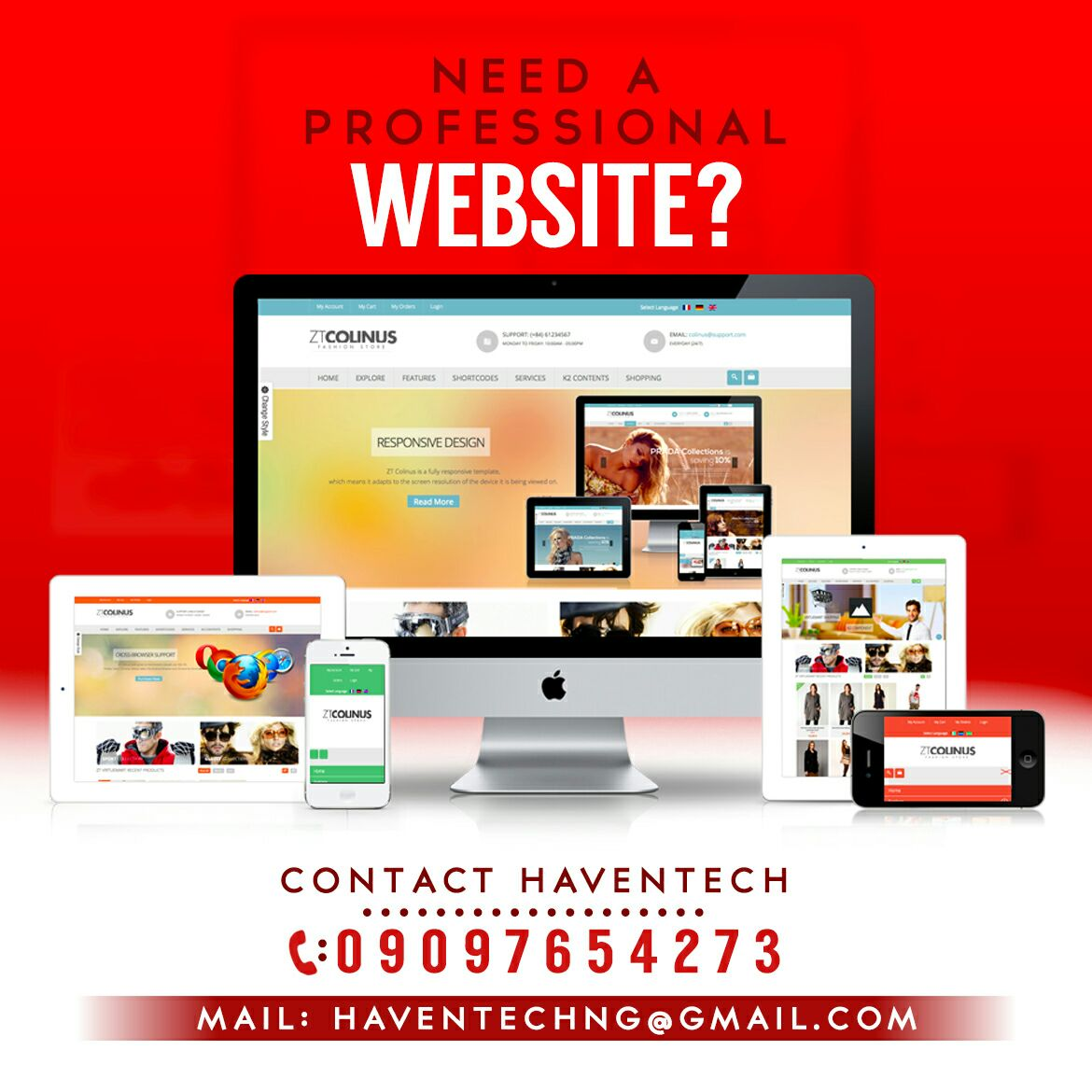 Get Your Own Blog Website For As Low As 30 000 Naira