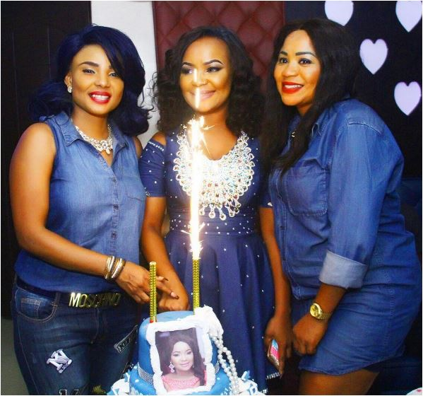 Actress Iyabo Ojo Attends Denim Themed Birthday Party Looking Fab & Chic (Photos)
