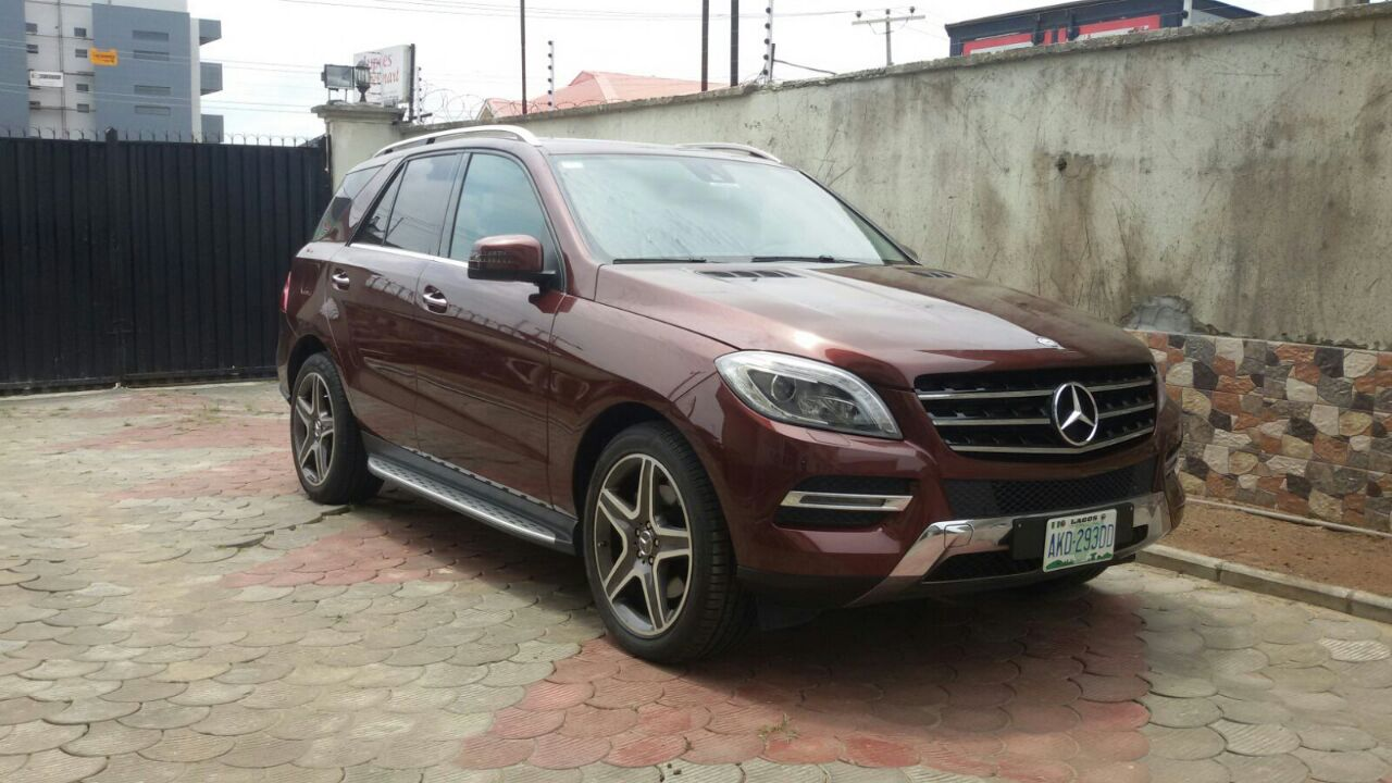 mercedes ml350 2014 for sale at 16700000 autos nigeria. Black Bedroom Furniture Sets. Home Design Ideas