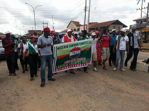Around Nigeria: Update on NLC Protest in all states