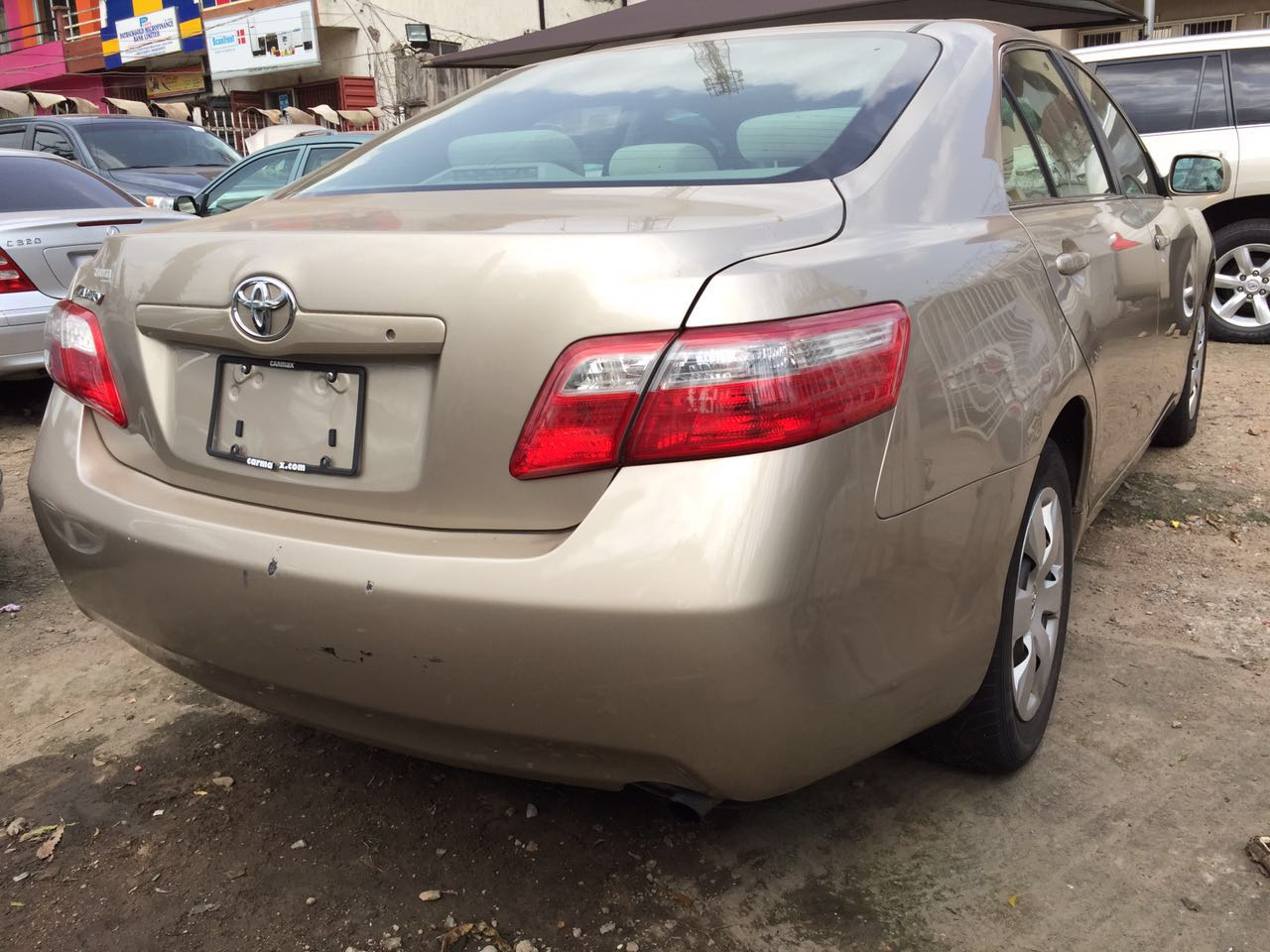 toks toyota camry 2008 le accident free 4 units available autos nigeria. Black Bedroom Furniture Sets. Home Design Ideas