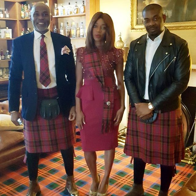 RMD and Don Jazzy Spotted in Scotland, See Cute Photos