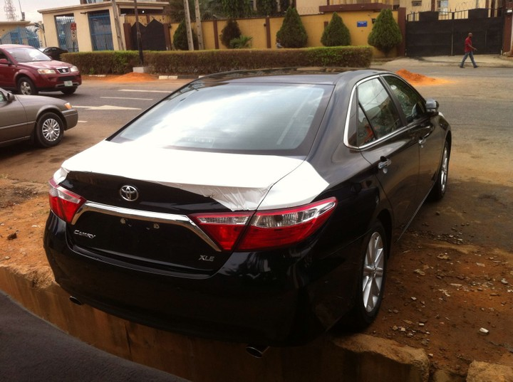 2016 model toyota camry brand new but engraved 9500000 autos nigeria. Black Bedroom Furniture Sets. Home Design Ideas