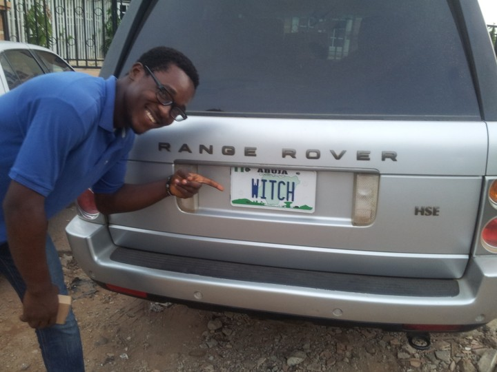 Witch Number Plate In Garki Abuja Pics Car Talk
