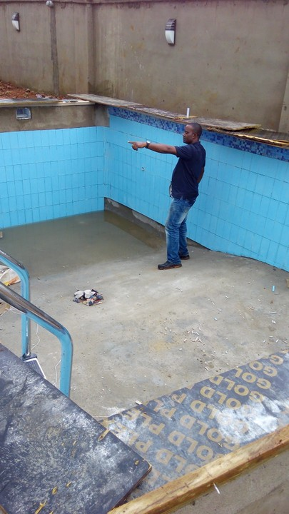 Onoba Meh Ltd Swimming Pool Construction Ongoing Project Pictures Properties 1 Nigeria